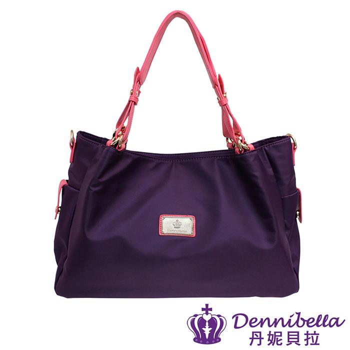 Dennibella 丹妮貝拉 - 日本薰衣草系列 - 日系輕量系列-防潑水斜背包 - 紫