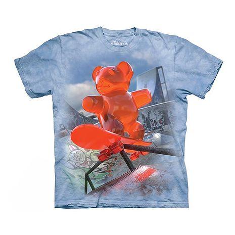 【摩達客】(預購)美國進口The Mountain 滑板軟糖 純棉環保短袖T恤