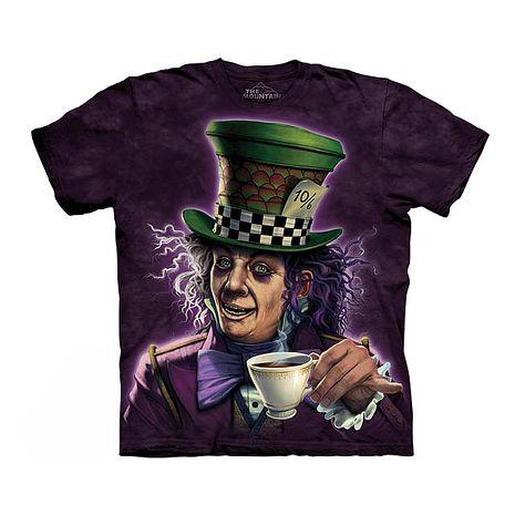 【摩達客】(預購)美國進口The Mountain 瘋帽子先生 純棉環保短袖T恤成人Adult-2XL