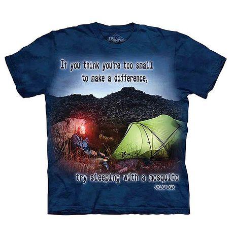 【摩達客】(預購)美國進口The Mountain Life 戶外系列 渺小的蚊子 純棉環保短袖T恤