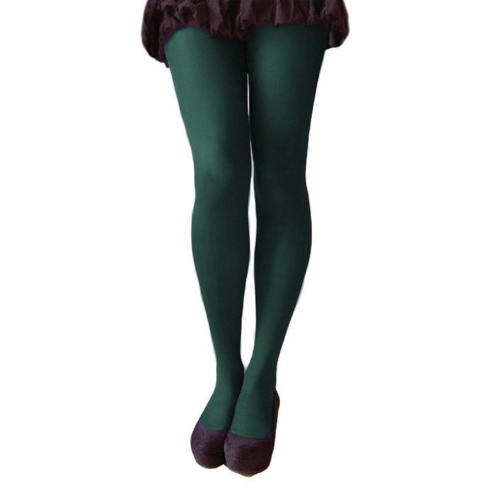 英國進口【Pretty Polly】40D丹尼彩色彈性褲襪(綠色)(兩入組)