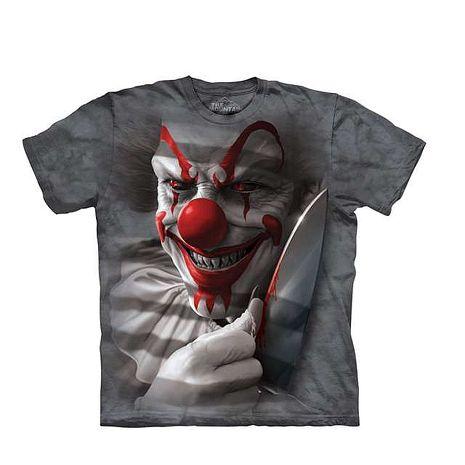 【摩達客】(預購)美國進口The Mountain 血腥小丑 純棉環保短袖T恤成人Adult-M