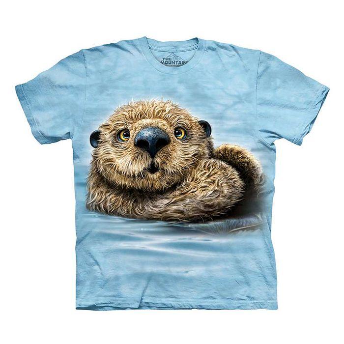 【摩達客】(預購)美國進口The Mountain 水瀨 純棉環保短袖T恤(10416045040a)