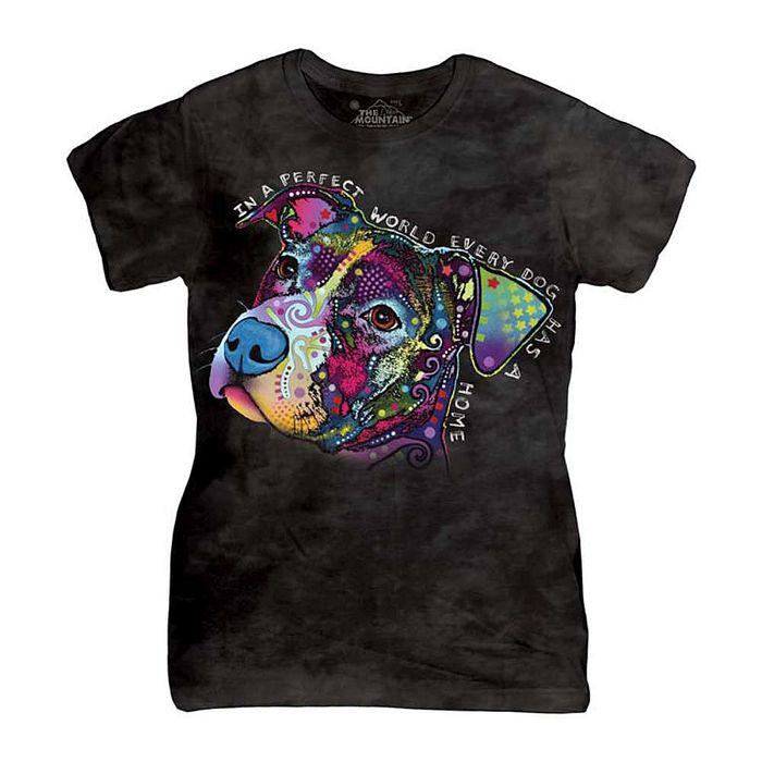 【摩達客】(預購)美國進口The Mountain 彩繪完美米克斯 短袖女版T恤精梳棉環保染(12516045039a)女版 2XL
