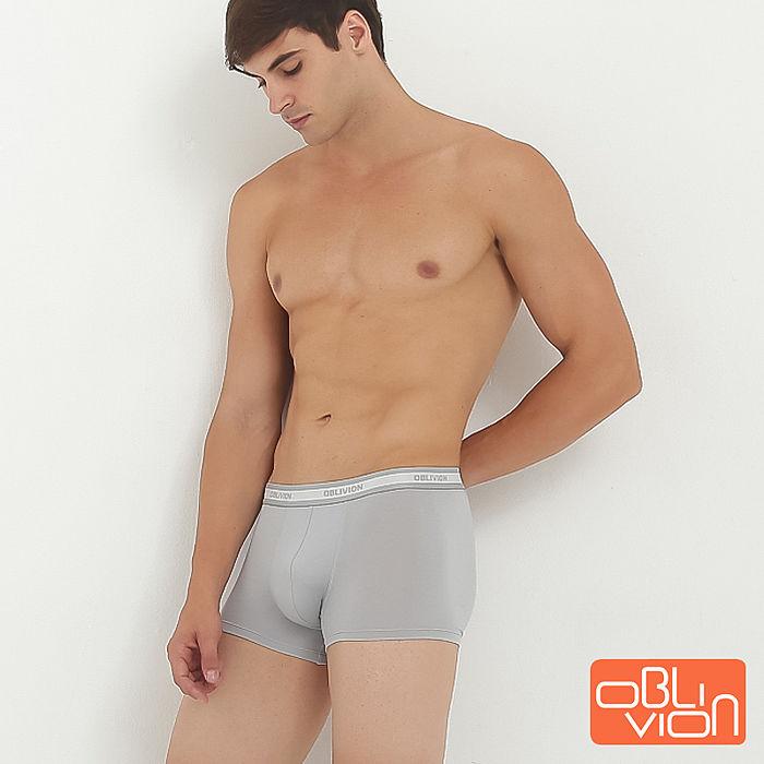 【OBLIVION】【OBLIVION】立體剪裁男士低腰平口褲(兩色)
