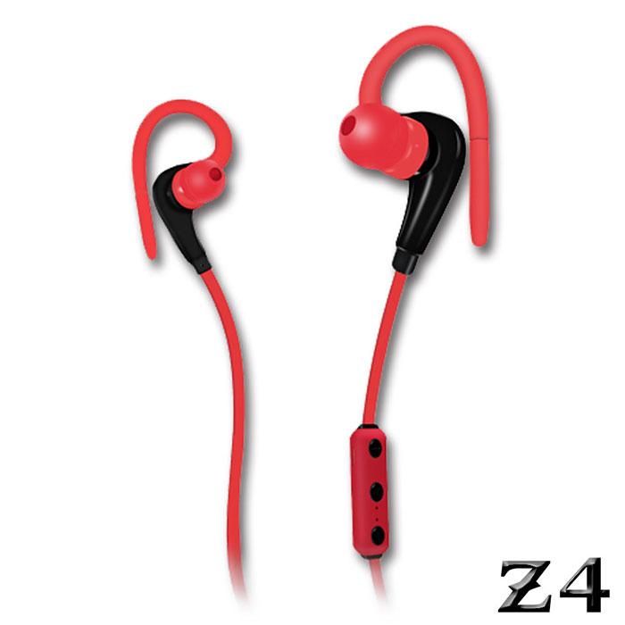 【雙11破盤】長江 NAMO Z4耳掛式立體聲運動藍牙耳機紅色