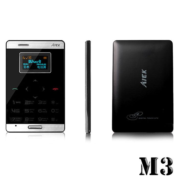 【長江】AIEK M3 極緻輕薄觸控名片機(無照像功能)-2G【購物節品】