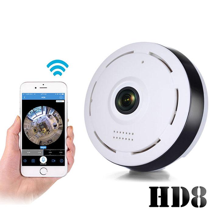 U-ta 新一代迷你無線網路環景監控攝影機HD8(公司貨)