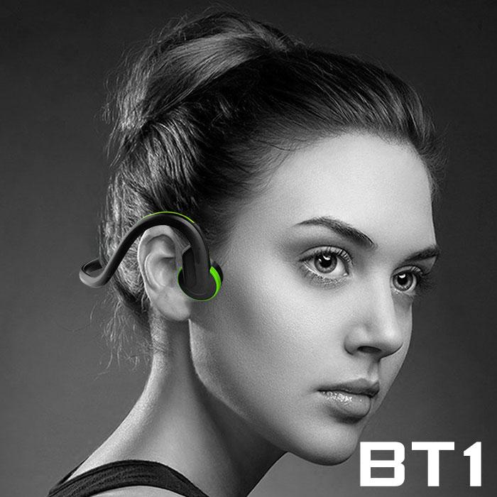 【雙11破盤】升級版極限運動骨傳導藍牙耳機BT1(公司貨)炫彩橘
