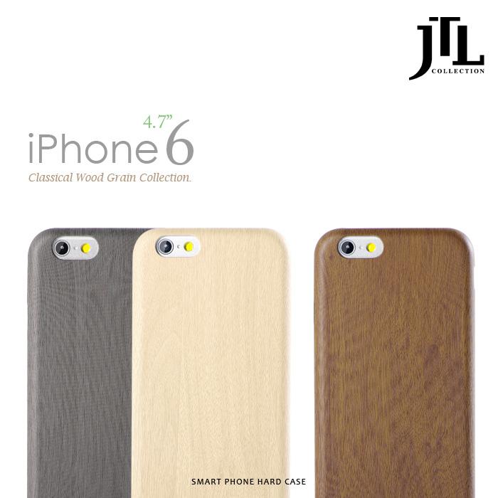 【加購】JTL iphone6s / 6s Plus 經典細緻木紋保護套系列限量典藏款黑檀木5.5吋