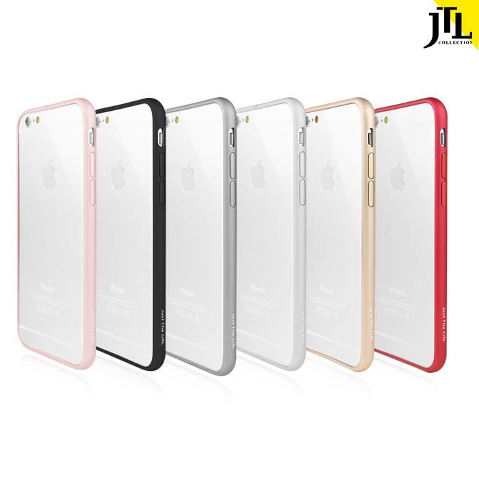 JTL iPhone 6s/6s Plus 極薄金屬航太鋁合金保護邊框