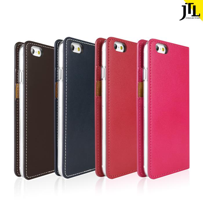 JTL iPhone 6/6s 古著側掀式真皮皮套經典款