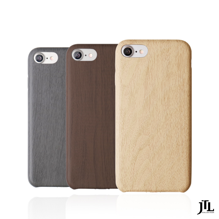 【門市購】JTL iPhone 8 / 8 Plus 經典木紋保護套(iPhone7共用)5.5吋白樺木