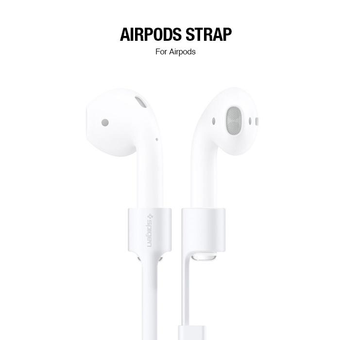 SGP Airpods Strap White-藍牙耳機輔助後掛線(白)