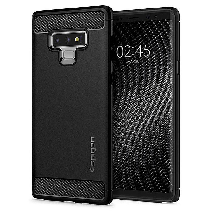 SGP / Spigen Galaxy Note 9 Rugged Armor軍規防摔手機殼
