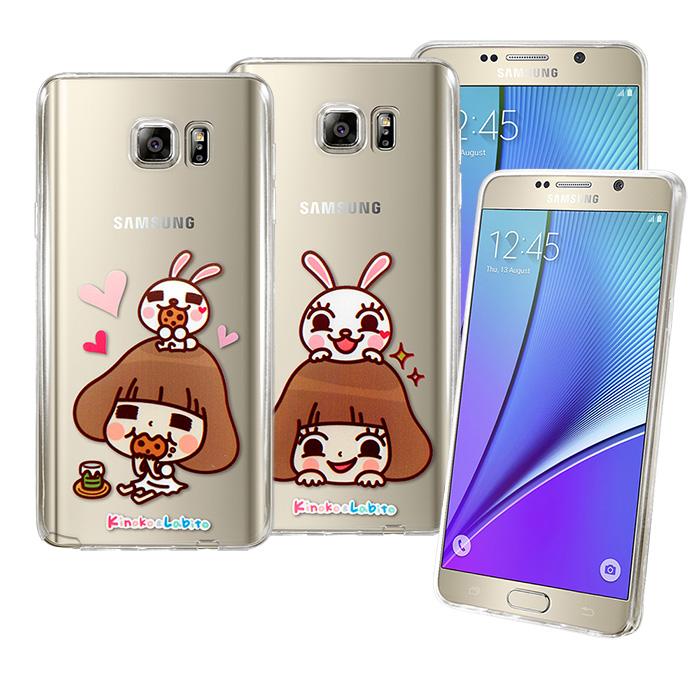 【Metal-Slim】 Samsung Galaxy Note5 香菇妹超薄TPU透明軟殼套