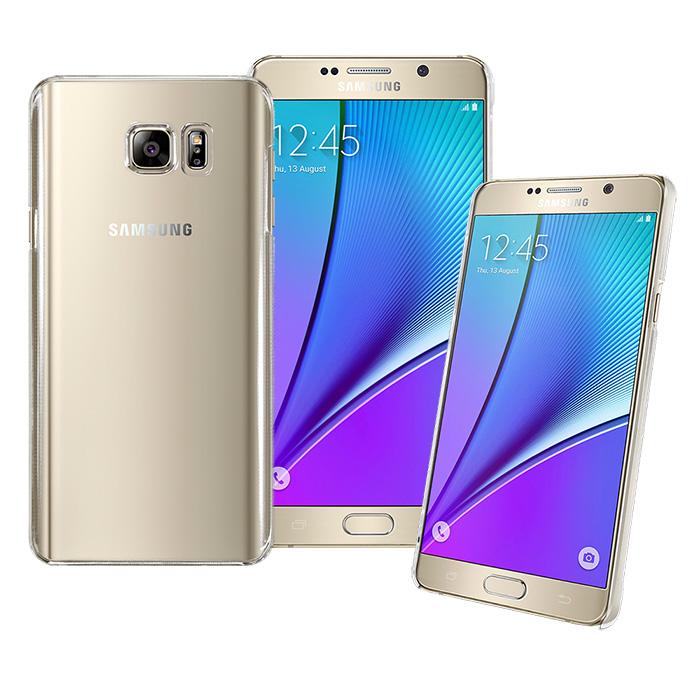 【 Simply Design】Samsung Galaxy NOTE 5 高抗刮PC透明系列保護殼