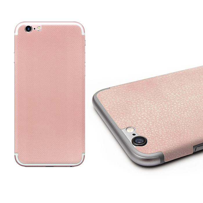 "【Metal-Slim】Apple iPhone 6s/6 plus 5.5""手機背膜(粉紅)"