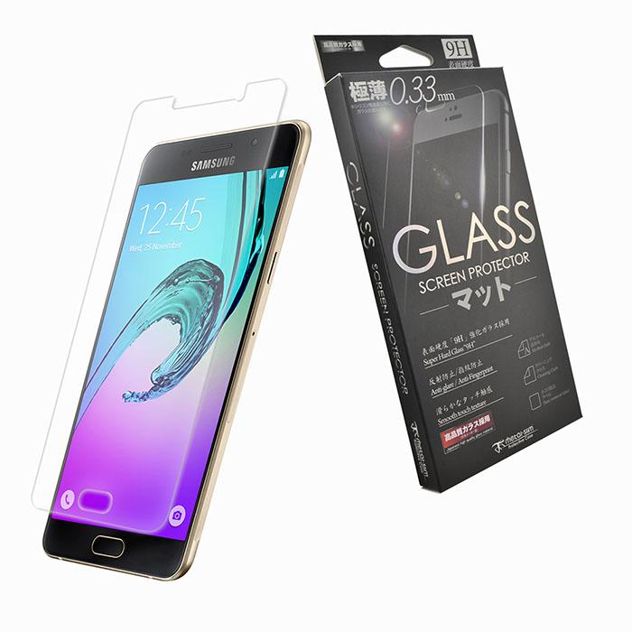 【Metal-slim】 Samsung Galaxy A5(2016) 9H弧邊耐磨防指紋鋼化玻璃保護貼