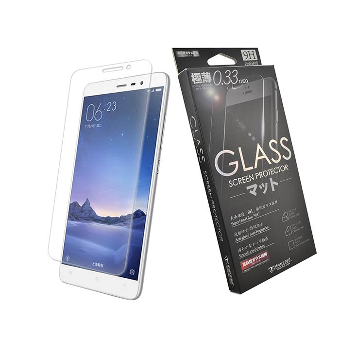 【Metal-slim】 Xiaomi 紅米 Note 3 0.33mm 9H弧邊耐磨防指紋鋼化玻璃保護貼