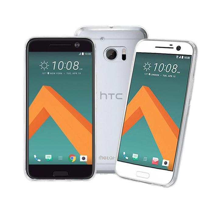 【Metal-Slim】HTC 10 時尚超薄TPU透明軟殼