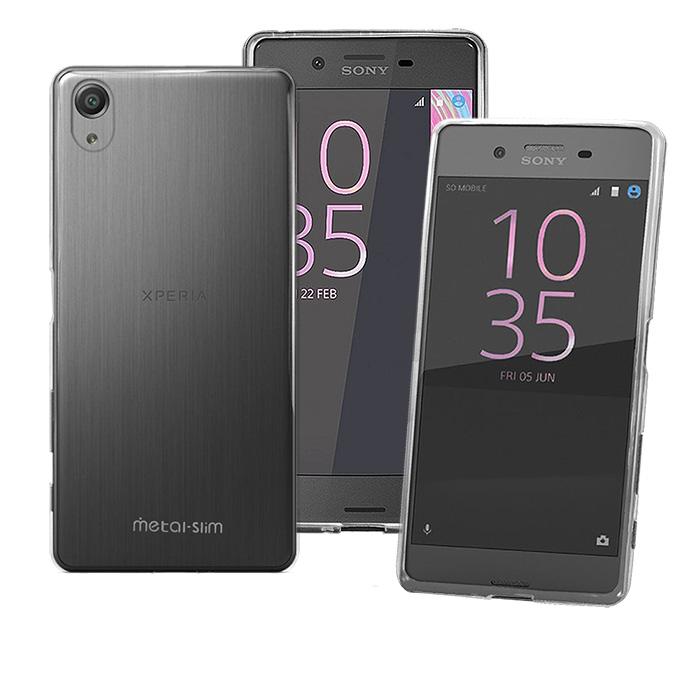 【Metal-Slim】Sony Xperia X Performance 時尚超薄TPU透明軟殼