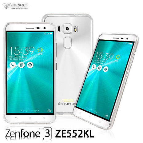 Metal-Slim ASUS ZenFone 3 ZE552KL 超薄TPU透明軟殼套