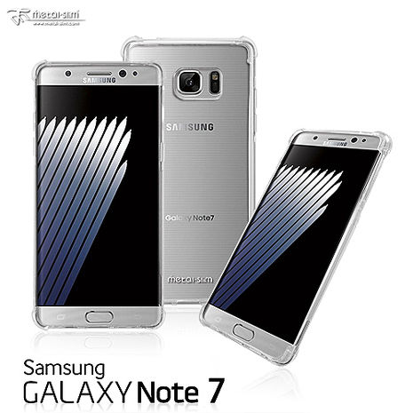 Metal-Slim SAMSUNG GALAXY Note7 混搭氣墊防摔殼