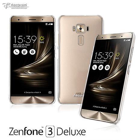 Metal-Slim ASUS Zenfone3 Deluxe  高抗刮PC透明新型保護殼