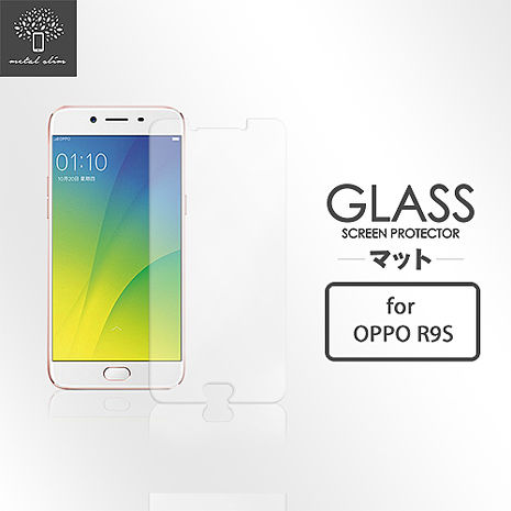 Metal-Slim OPPO R9s 9H鋼化玻璃保護貼
