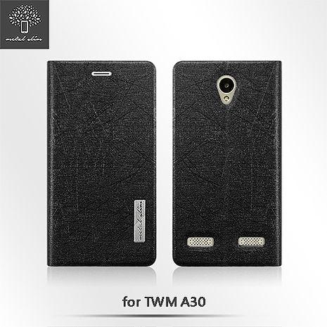 Metal-Slim TWM A30 閃電紋TPU站立皮套