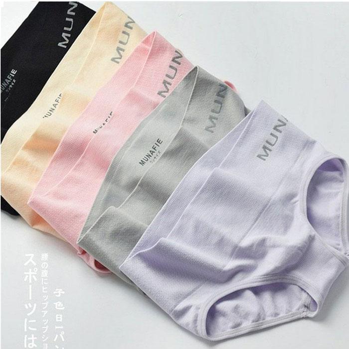 【Munafie】日本收腹提臀無痕塑身內褲買一送一黑