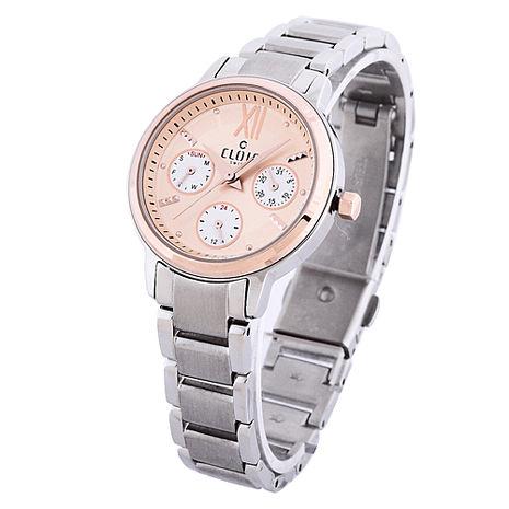 永恆喜悅全日曆時尚腕錶 玫瑰金 31mm CL11054-HC20