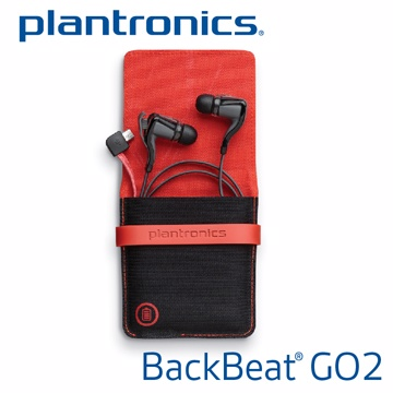 Plantronics BackBeat GO 2 精裝版 無線藍牙耳機(黑)