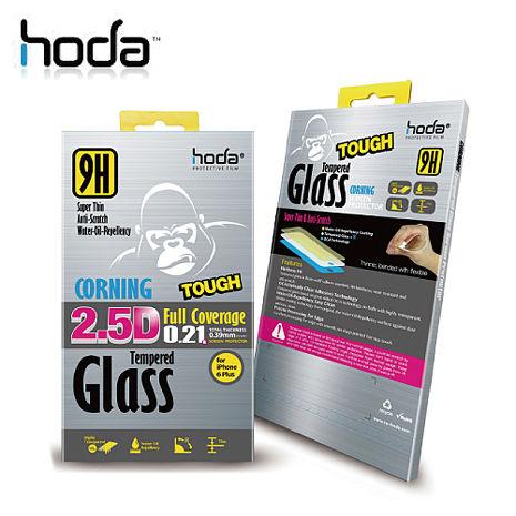 贈小清潔組 HODA APPLE iPhone SE/5/5S 9H康寧玻璃鋼化保護貼【0.21版】 美國康寧玻璃