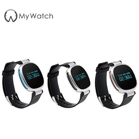 My Watch 第六代 IP67級防水智慧計步運動手環游泳專用 E08 運動手環 藍芽4.0 心律監測 訊息通知
