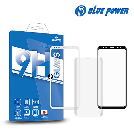 BLUE POWER ASUS ZenFone 3 Zoom (ZE553KL) 3D 曲面 滿版 9H鋼化玻璃保護貼白色