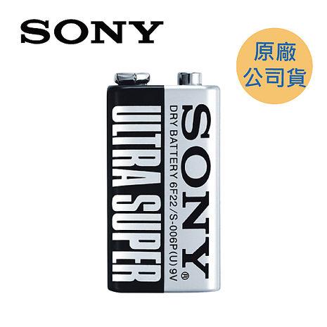 【原廠公司貨】SONY 碳鋅9V電池(S-006P-VPX)