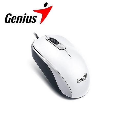 Genius 昆盈 DX-110 有線滑鼠-優雅白 (DX-110-WH)