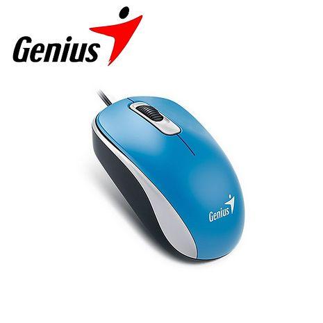 Genius 昆盈 DX-110 有線滑鼠-海洋藍 (DX-110-BL)