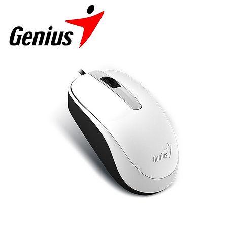 Genius 昆盈 DX-120 有線滑鼠-優雅白 (DX-120-WH)