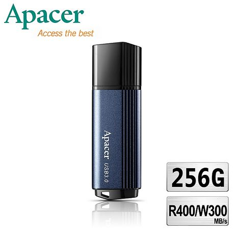 Apacer宇瞻 AH553 256GB'巔峰王者'400MB/s極速隨身碟 USB3.0
