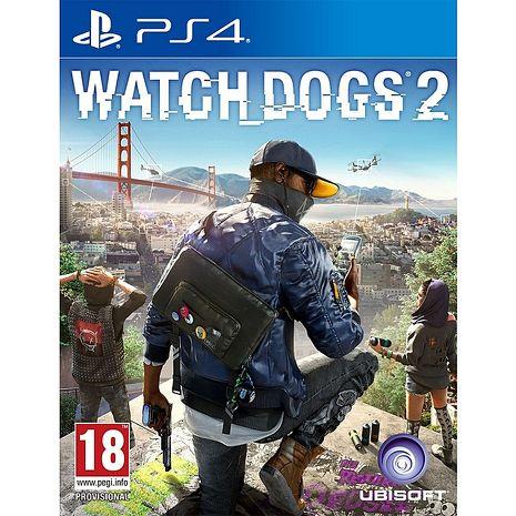 PS4遊戲 看門狗2-國際中文版加碼送下載卡*1