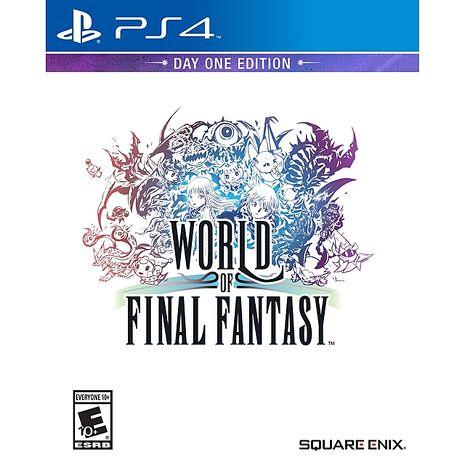 PS4 遊戲 Final Fantasy 世界 - 中文版