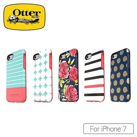 OtterBox iPhone7 炫彩塗鴉系列保護殼紅玫瑰53937