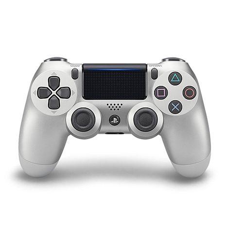 PS4原廠DS4 光條觸碰板 無線震動手把-銀色(CUH-ZCT2G15)