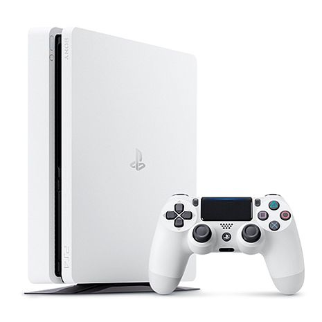 SONY PS4主機CUH-2017系列1TB-冰河白