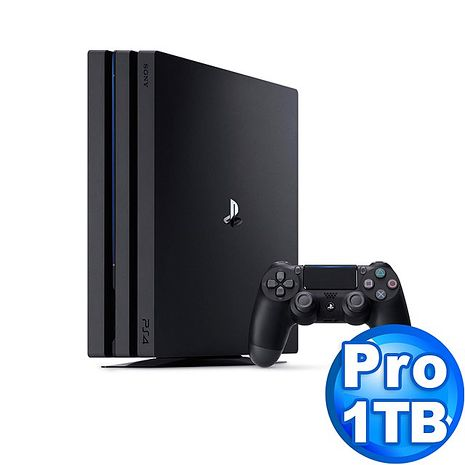 SONY PS4 Pro主機CUH-7218系列1TB-極致黑
