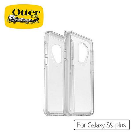 OtterBox Galaxy S9 Plus 炫彩幾何透明保護殼冰雪晶透(亮粉)58091