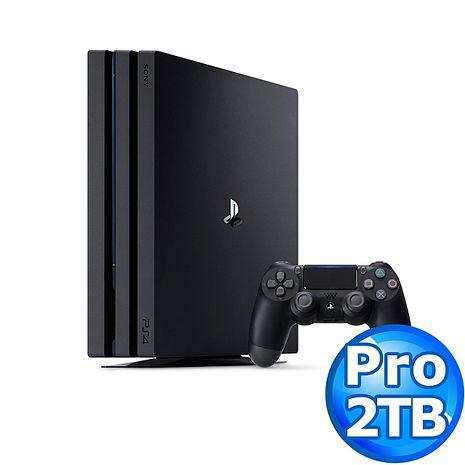 SONY PS4 Pro主機CUH-7218系列 2TB-極致黑